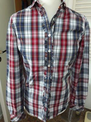 Tommy Hilfiger Ruche blouse veelkleurig