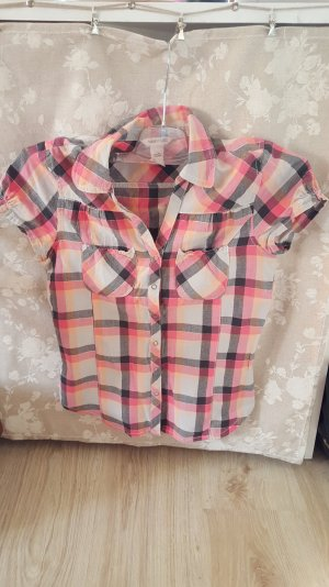 H&M Short Sleeved Blouse multicolored