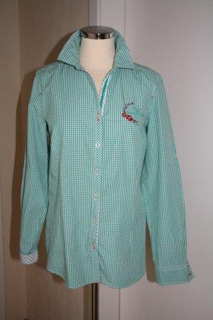Bluse, Karo-Bluse von Milano Italy/Ultimo -Fashion, Vichykaro