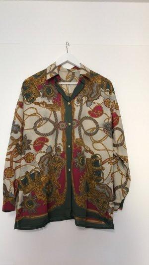 Bluse Kettenmuster Vintage