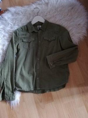 H&M Blouse gris vert