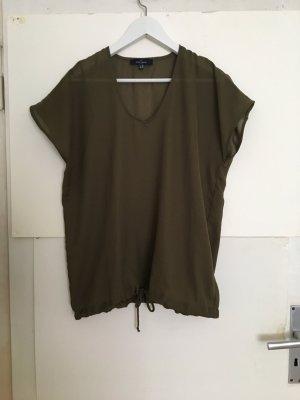Bluse khaki oliv 40
