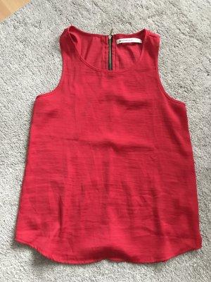 Bluse - Knallige Farbe schlichter schnitt