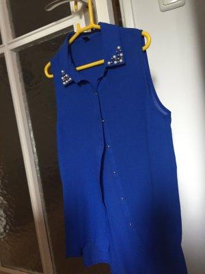 Bluse Königsblau