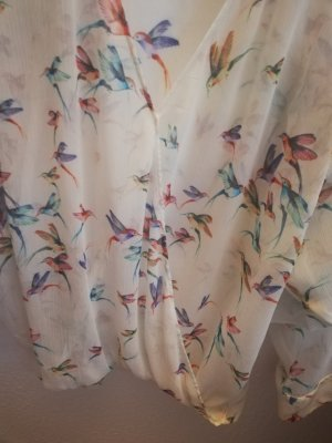 Bluse Kolibri transparent