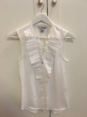 Bluse • kurzärmlig • Brustdetails