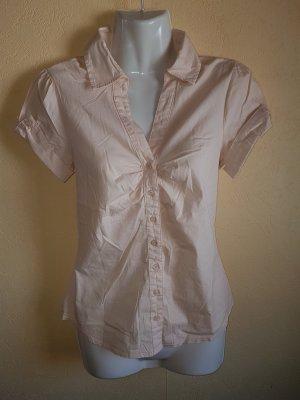 Bluse kurzarm Größe S von H&M in rose