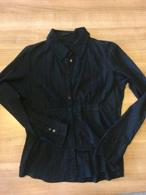 Bluse Langarm - schwarz - mit Stretchanteil - Gr.  XL - vero moda