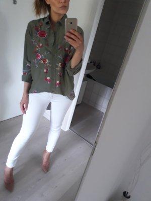 Zara Camicetta a blusa cachi