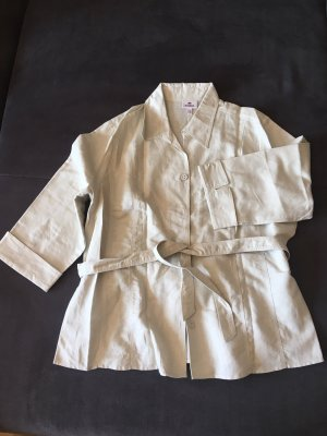 Kingfield Blouse en lin crème-beige clair