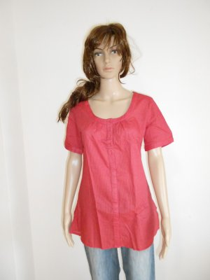 Bluse / Longbluse rot gr 36 / 38