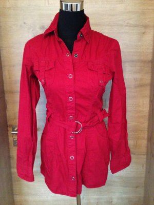 Bluse longbluse rot Street one gr 34