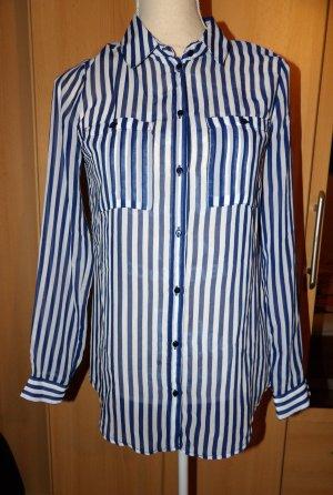 Bluse Longbluse Streifen Orsay Gr. 34 XS