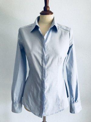 Bluse Mango klassisch Gr. S / 36 Hellblau