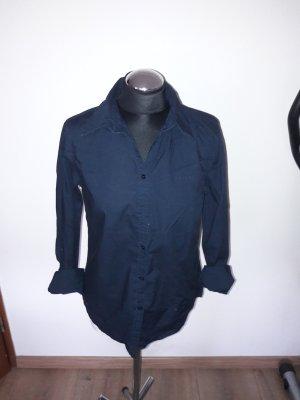 bluse marc o polo gr. 38 dunkelblau