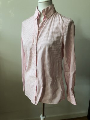 Massimo Dutti Shirt Blouse white-light pink
