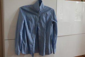 Bluse, Massimo Dutti, blau