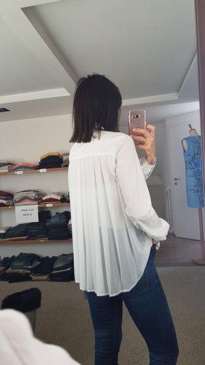 'S MaxMara Cuello de blusa blanco Algodón