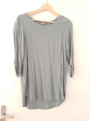 Bluse mit 3/4-Ärmeln - graugrün