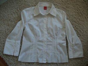 Bluse mit 3/4 Arm von s.Oliver, Gr. 38, weiß