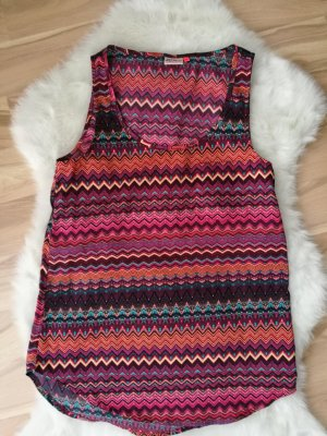 Bluse mit Aztec-Muster von Only