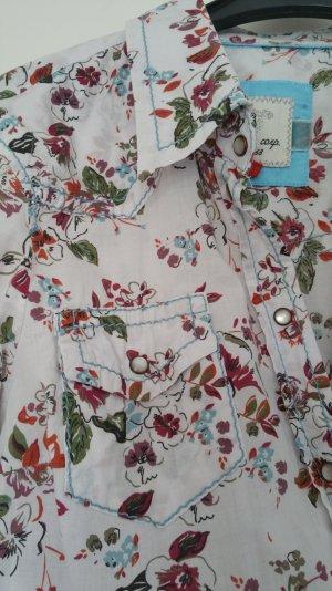 Bluse mit Blütenmuster von Esprit