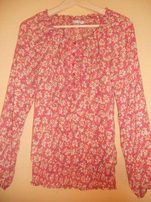 Bluse mit Blumen von Only, Gr. 36