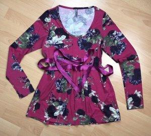 Bluse mit Blumenaufdruck