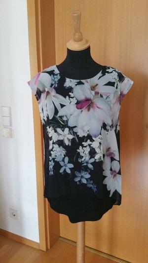 Bluse mit Blumendruck Gr.36/38 neu