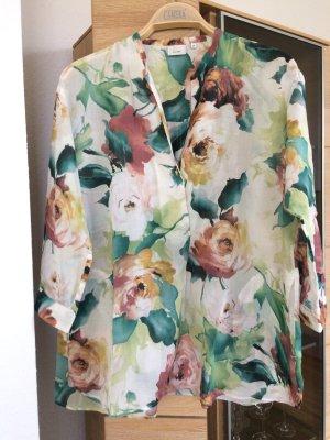 Bluse mit Blumendruck von Caliban
