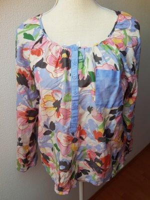 Bluse mit Blumenmuster; Gr. 38