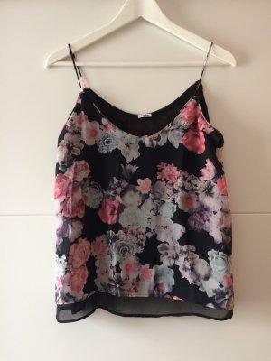 Bluse mit Blumenmuster, Größe 38