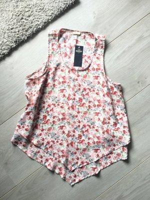 Bluse mit Blumenmuster Hollister