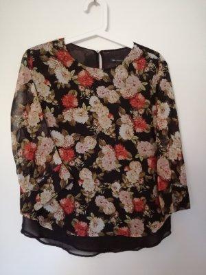 Bluse mit Blumenmuster von Mango