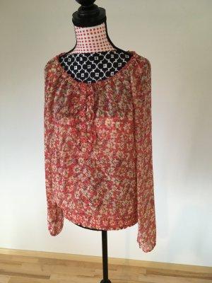Bluse mit Blumenmuster von Only