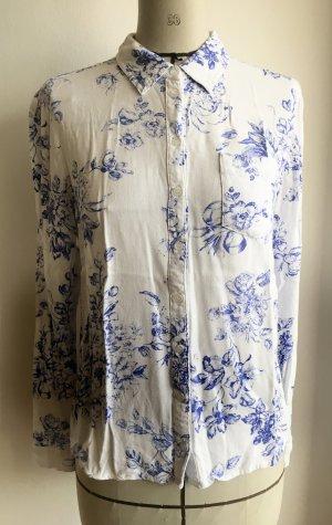 Bluse mit Blumenmuster von Tom Tailor Denim