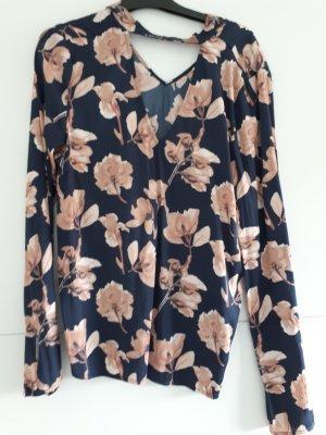 Bluse mit Blumenoptik