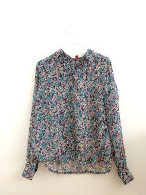 Bluse mit Blumenprint Gr. XS