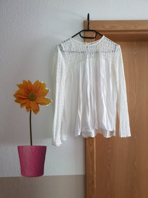 Zara Blouse white-cream