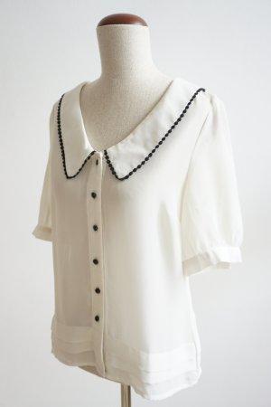 Bluse mit Bubikragen von Vero Moda