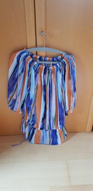 Carmen Blouse multicolored synthetic fibre