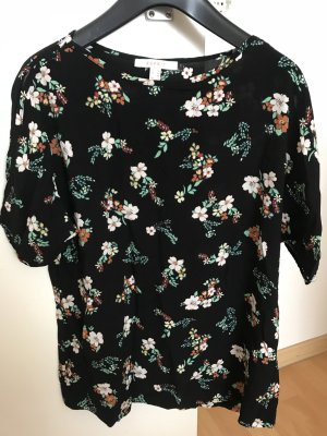 Bluse mit cut-out Ärmeln