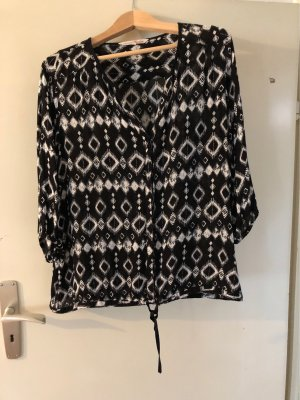 Bluse mit Ethno-Muster
