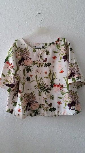 Bluse mit Floral Print