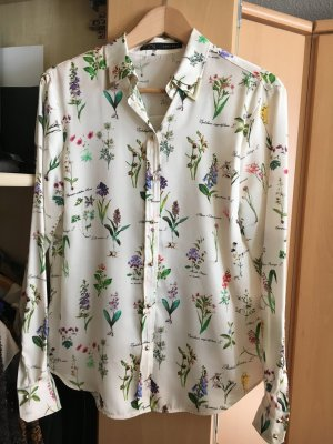 Zara Blouse brillante multicolore