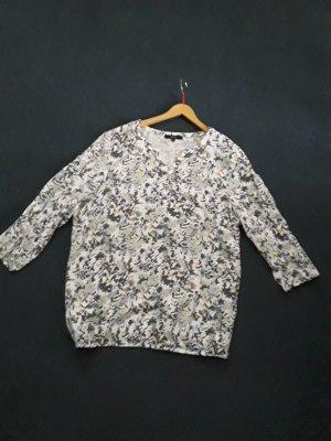 Bluse mit floralem Muster