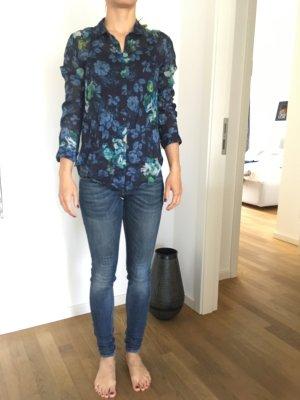 Bluse mit floralem Muster von The Kooples