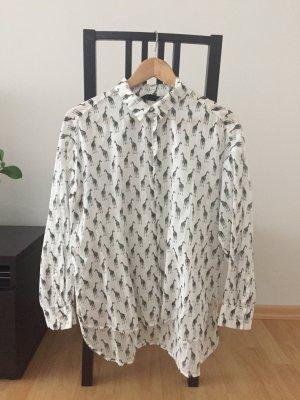 Bluse mit Giraffen von H&M