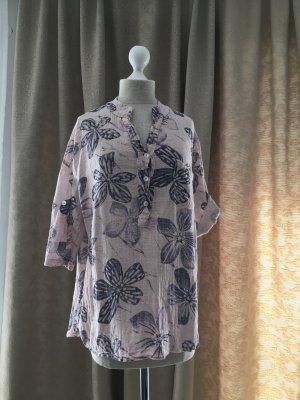 Bluse mit großem Blumen Muster