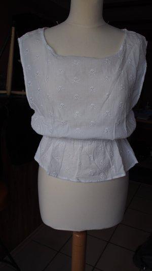 Bluse mit Gummizug in der Taille